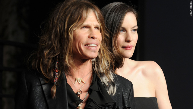 Steven Tyler borrows daughter Liv's clothes