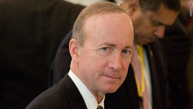 Indiana Gov. Mitch Daniels still deciding on presidential campaign