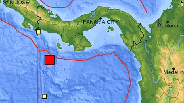 Strong earthquake jolts Panama