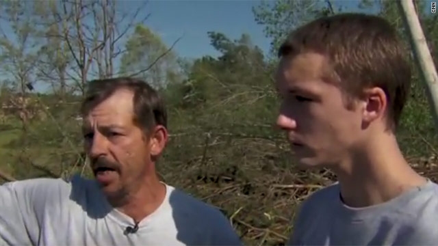 Father, son survived tornado: 'I had to save him,' dad says