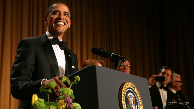 Obama lampoons Trump, releases 'birth video' at annual dinner