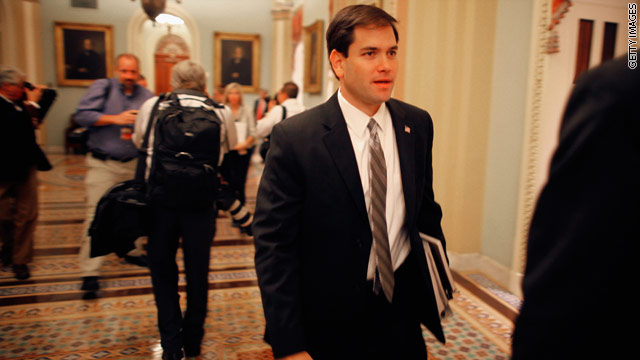 Rubio shoots down V.P. question