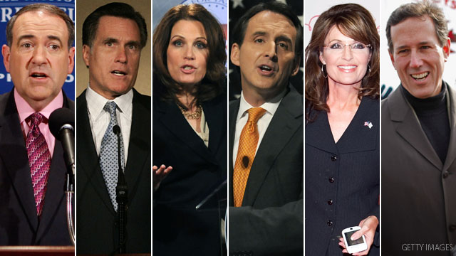 Potential GOP presidential candidates react to bin Laden's death