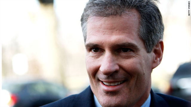 Sen. Scott Brown to serve in Afghanistan