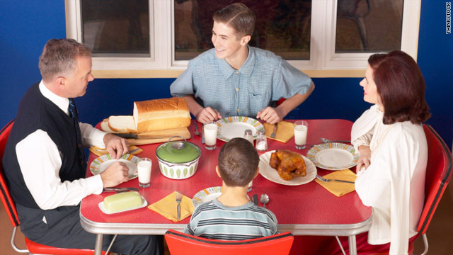 The family that eats together, stays healthy together