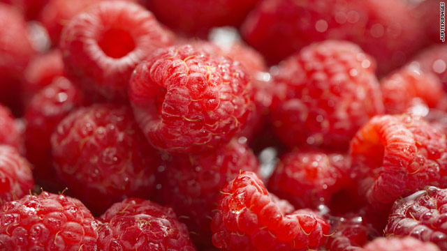National raspberries in cream day