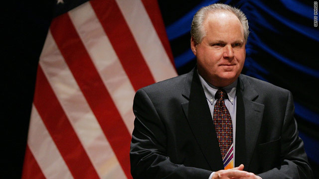 Limbaugh apologizes for 'slut' comment