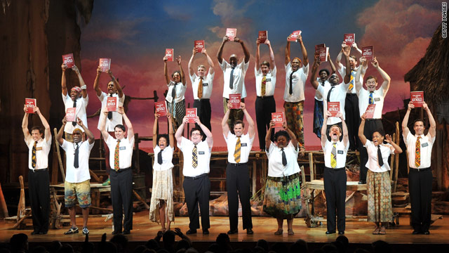 'Book of Mormon' leads Tony Award nominations