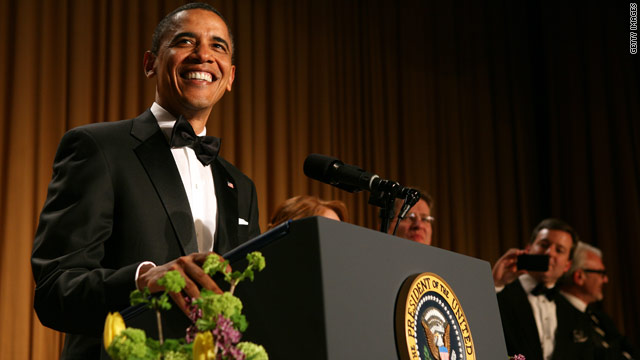 'Daily Show' writer helps Prez with jokes