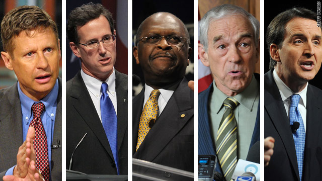Lineup set for first GOP debate; big names take a pass