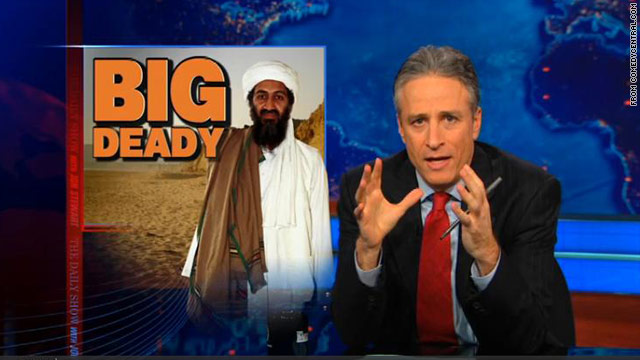 Jon Stewart on Osama bin Laden's death
