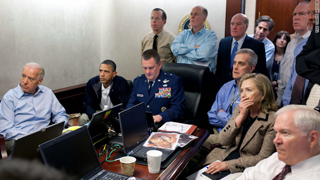 Obama's Situation Room photo added to list of iconic presidential images