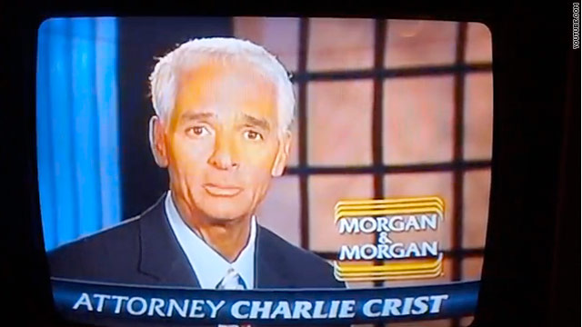 Crist hits the tube with new ad  for a law firm