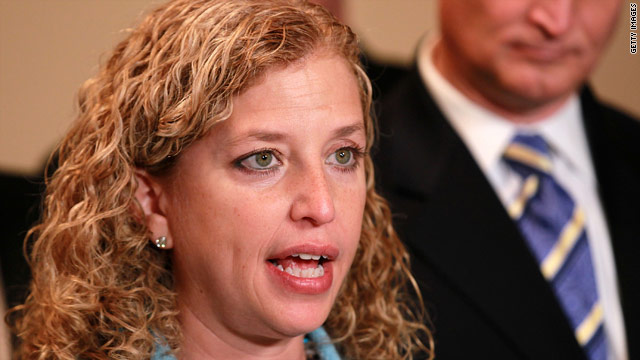 New DNC chair gives her charge