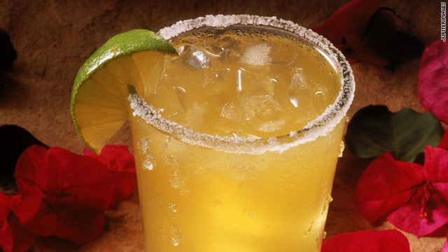 Don't get too schmancy with your margarita