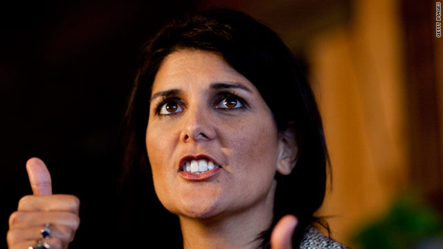 Haley 'happy' to meet with Trump during South Carolina visit