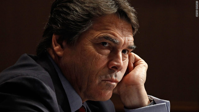 Texas Gov. Rick Perry's request denied