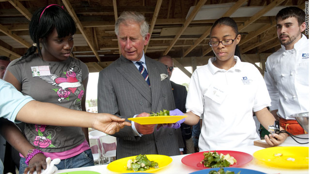 Prince Charles addresses 'The Future of Food'