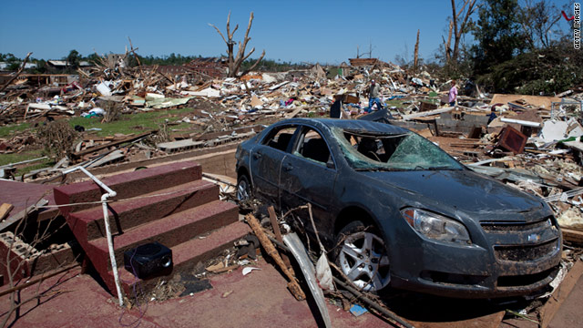 Record 178 tornadoes from South storms