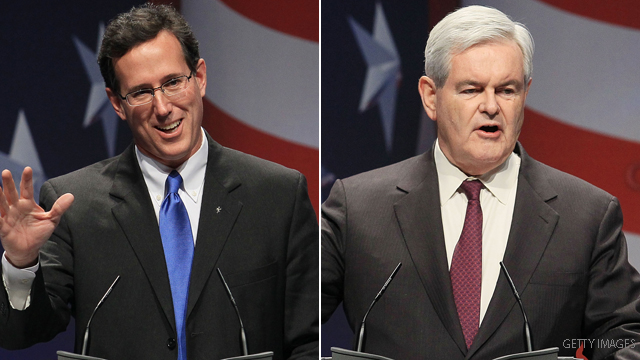 Fox terminates Gingrich and Santorum