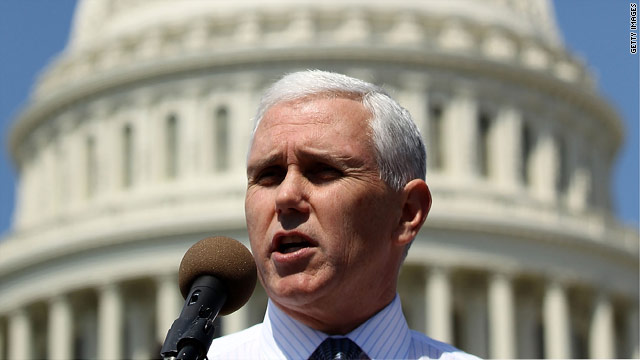It's official: Pence running for governor