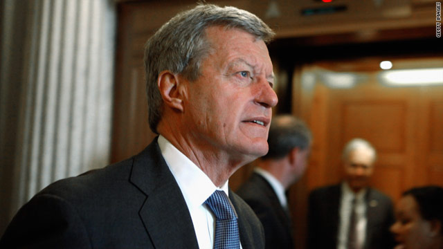 Obama's pick for China ambassador: Baucus