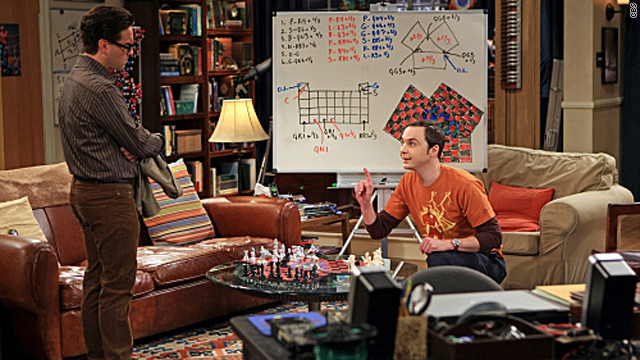 Not quite a checkmate on 'The Big Bang Theory'
