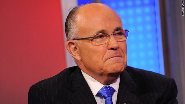 Giuliani could be 'talked into' running in 2012