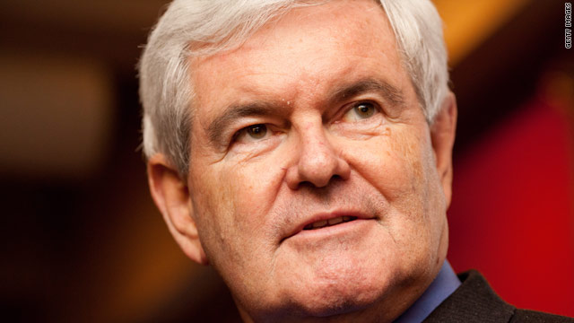 Gingrich adds a book to his stack