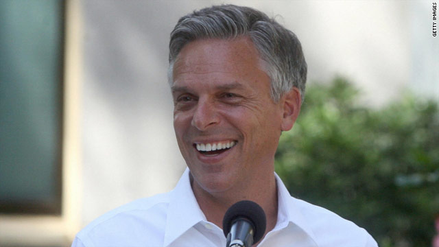 Huntsman makes debut as possible White House candidate