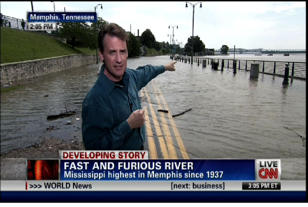 CNN coverage: Historic flooding along Mississippi River