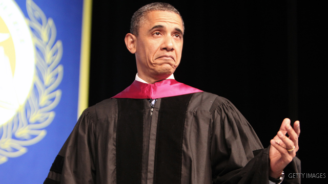 Three high schools vie for Obama for commencement