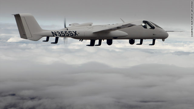New spy plane can be drone or flown by pilot
