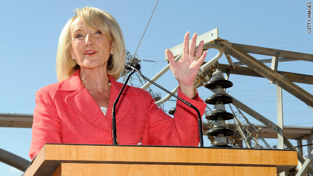 Jan Brewer meets the candidates