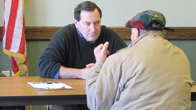 Donnelly announces Senate bid in Indiana