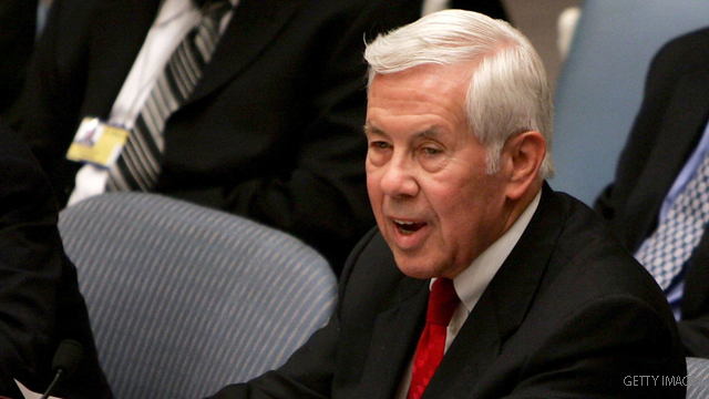Lugar's parting words: Part defense, part warning