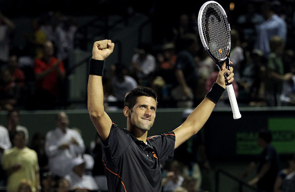 Novak Djokovic is on an incredible run in 2011 with 32 straight wins to his name.