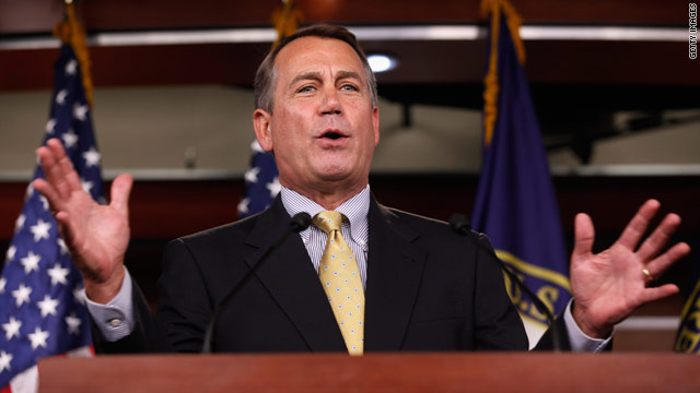 Boehner talks up Indiana Gov. Mitch Daniels
