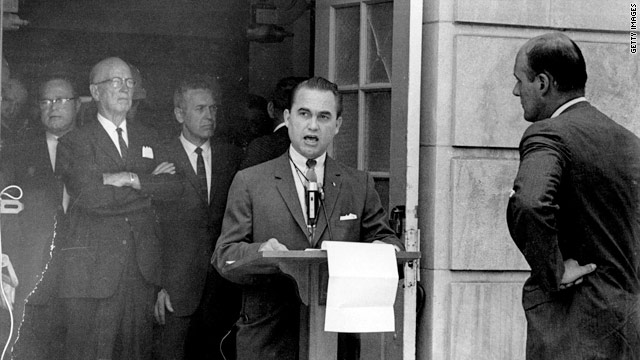 george c wallace essay Free essay: george wallace the 1960's were characterized as an era full of turmoil during this era, one of the most controversial topics was the fight over.