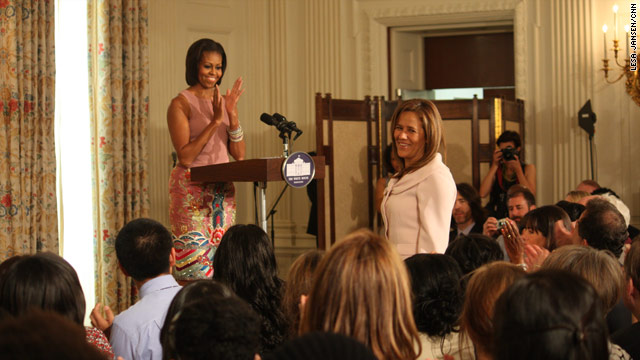 First Friends: Michelle Obama and Mexico's First Lady 'click'