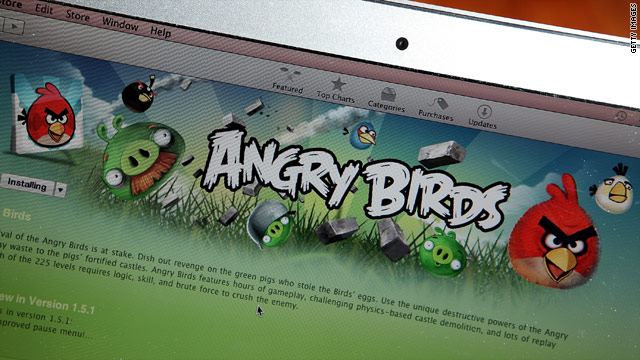 Stocks stumble as oil prices plunge; Angry Birds comes to Web