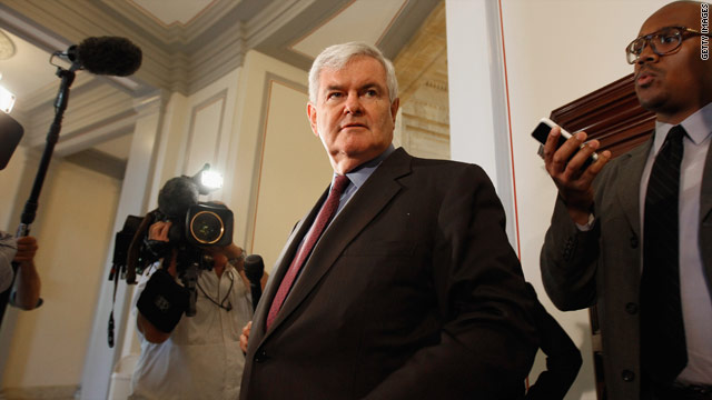 Presidential candidate latest in long list of Newt jobs