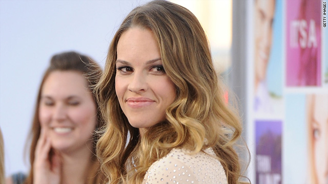 Radio host to Hilary Swank: You're not a pretty girl