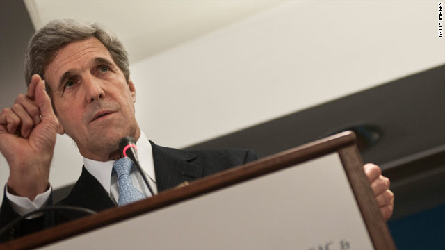 Kerry picked from &#039;binders of senators&#039;