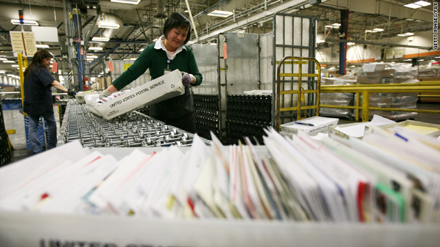 U.S. Post Office losing billions