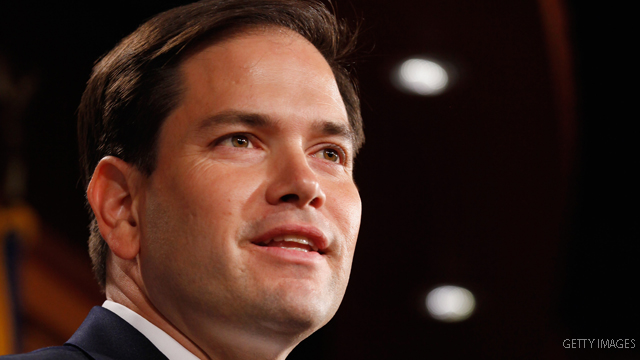 He says he&#039;s not running in 2012, but some wish Rubio would