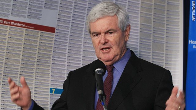 Gingrich admits mistakes