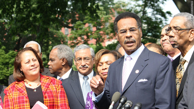 Congressional Black Caucus vows to keep pushing Obama on jobs
