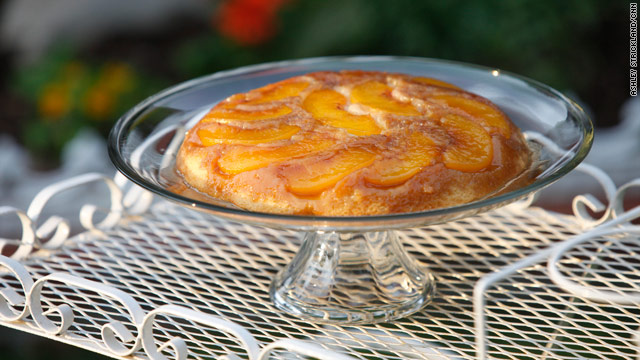 Fare play: peach upside down cake