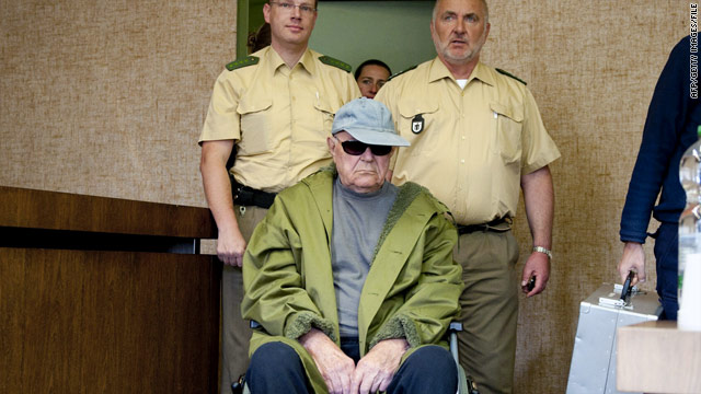 Elderly Nazi guard sentenced to prison